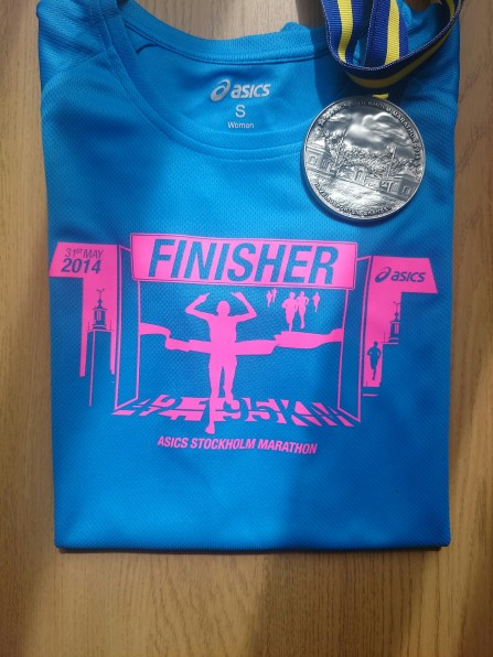 The shirt and the medal